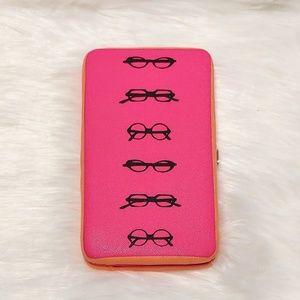 Merona | Glasses Print Frame Clutch Wallet